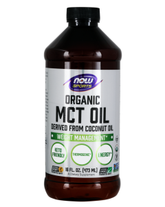 MCT Oil, Organic - 16 fl. oz.