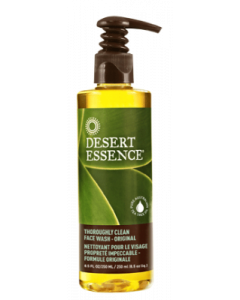 Desert Essence Thoroughly Clean Face Wash, 8 fl.oz.