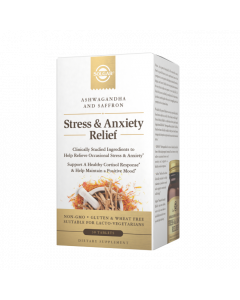 Solgar Stress & Anxiety Relief Tablets, 30 Tablets