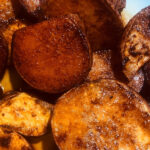 Buttered Maple Sweet Potatoes